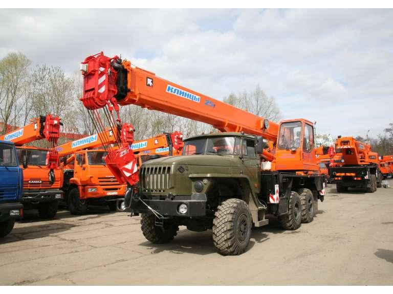 Автокран КС-55713-3К-1 на шасси Урал-5557