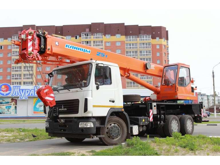 Автокран КС-55713-6К-2 на шасси МАЗ-6312В3