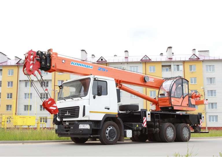 Автокран КС-55713-6К-3 на шасси МАЗ-6312В3