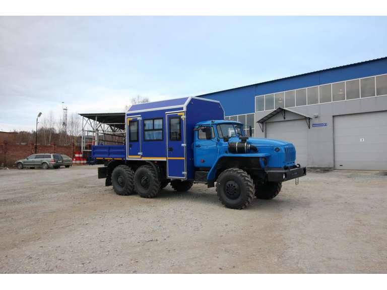 Грузопассажирский автомобиль (ГПА) на шасси Урал 4320 (капотный)