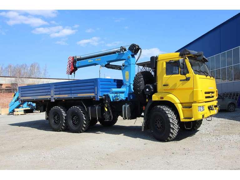 Бортовой автомобиль КАМАЗ 43118-50 с КМУ ИМ-240А