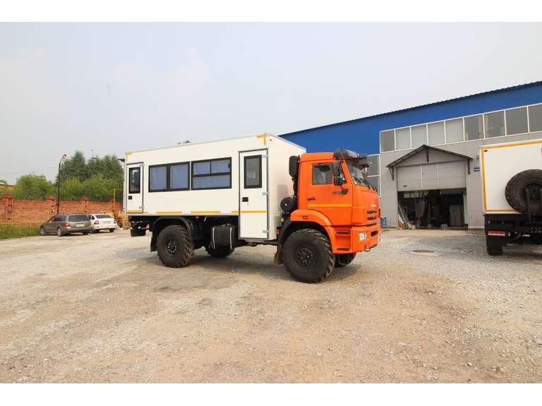 Вахтовый автобус КАМАЗ 43502-66 (без спального места) (20 мест)