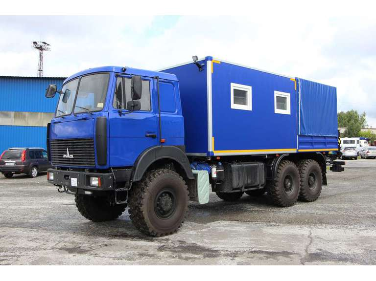Грузопассажирский автомобиль (ГПА) на шасси МАЗ 6317 с КМУ ИМ-25