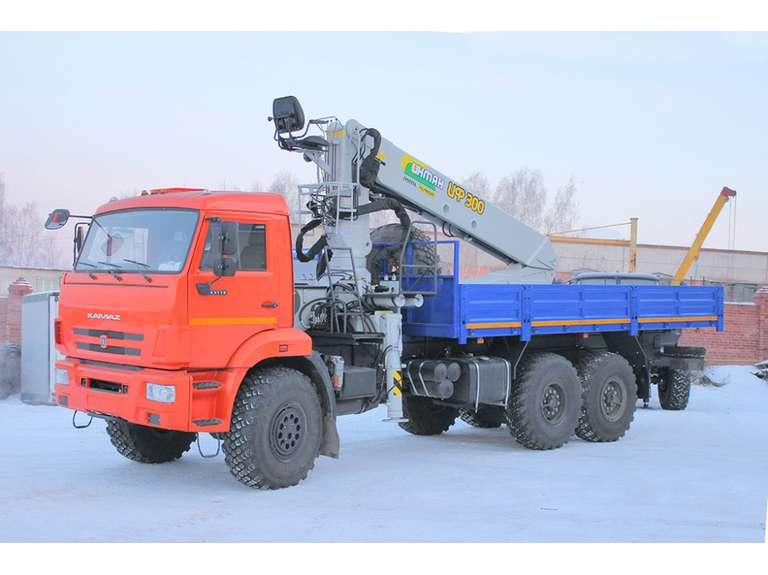 Бортовой Камаз 43118-50 с КМУ ИФ-300