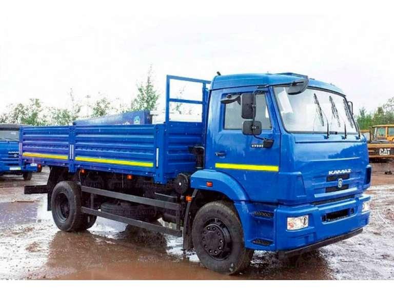 Бортовой автомобиль КАМАЗ 43253