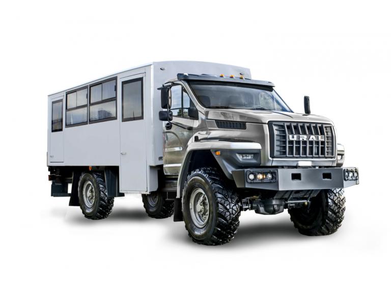 Вахтовый автобус Урал NEXT 32552-71Е5 (с грузовым отсеком) (14 мест)
