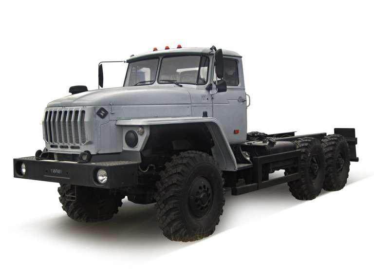 Шасси Урал 4320-72Е5 (длиннобазовое)
