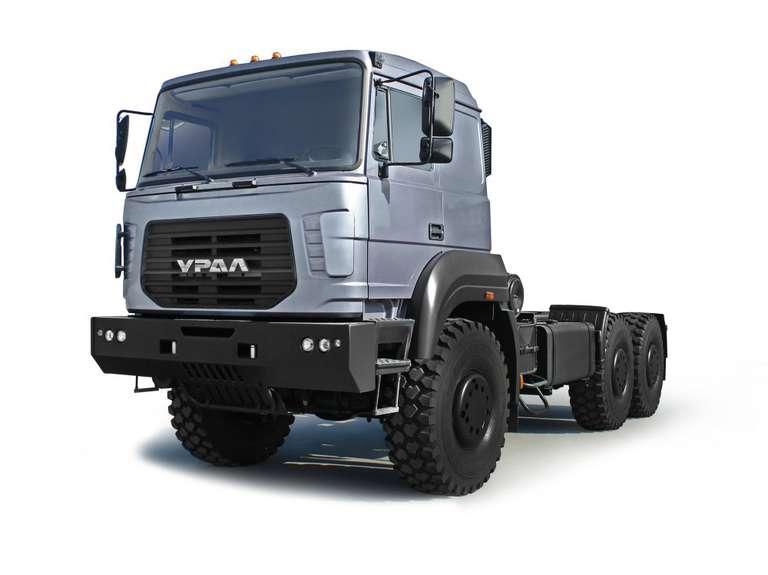 Шасси Урал 6370K (под монтаж спецтехники)