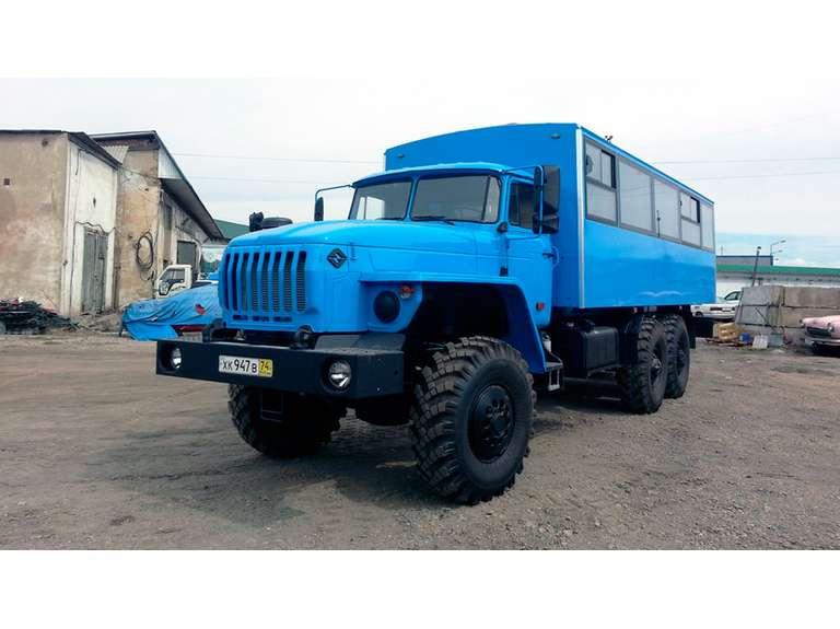 Вахтовый автобус Урал 3255