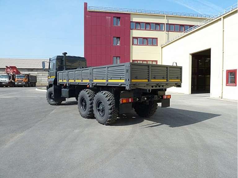 Бортовой автомобиль Урал Бескопотный 4320-80Е5 УДЛ