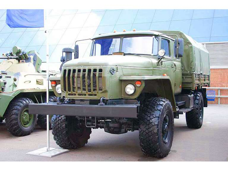Бортовой автомобиль Урал Урал 43206-61Е5