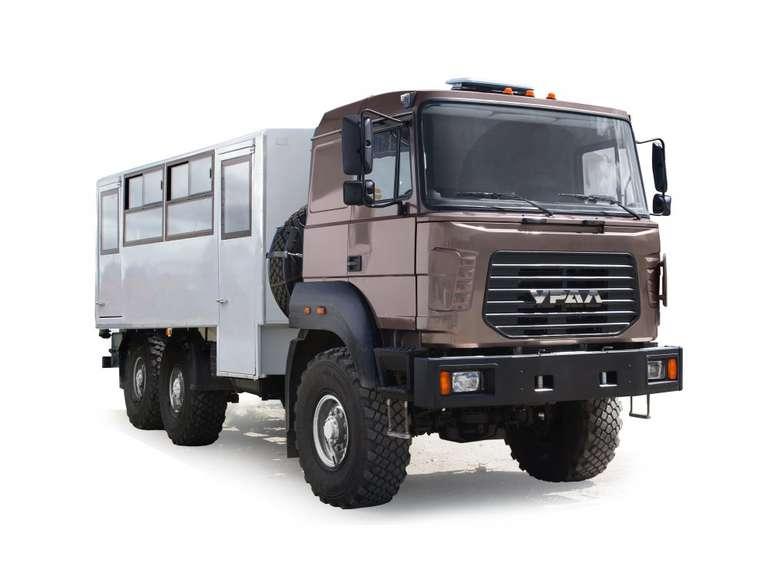Вахтовый автобус Урал Бескапотный 3255-79Е5 (22 мест)