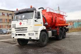 Автоцистерна нефтепромысловая АКН-12 на шасси КАМАЗ 43118-50