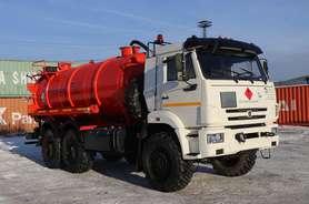 Автоцистерна нефтепромысловая АКН-12ОД на шасси КАМАЗ 43118 (Евро 5)