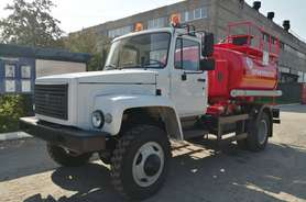 Автотопливозаправщик АТЗ-5 на шасси ГАЗ-33086