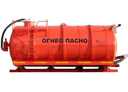 Цистерна АКН-10 (3 дополнительные опции)