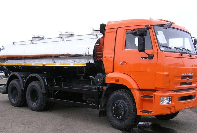 АЦПТ-9,7 на шасси КАМАЗ 65115