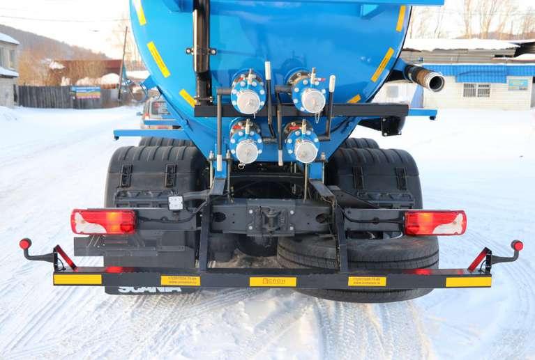 Вакуумная машина МВ-20 на шасси Scania P340 6x4