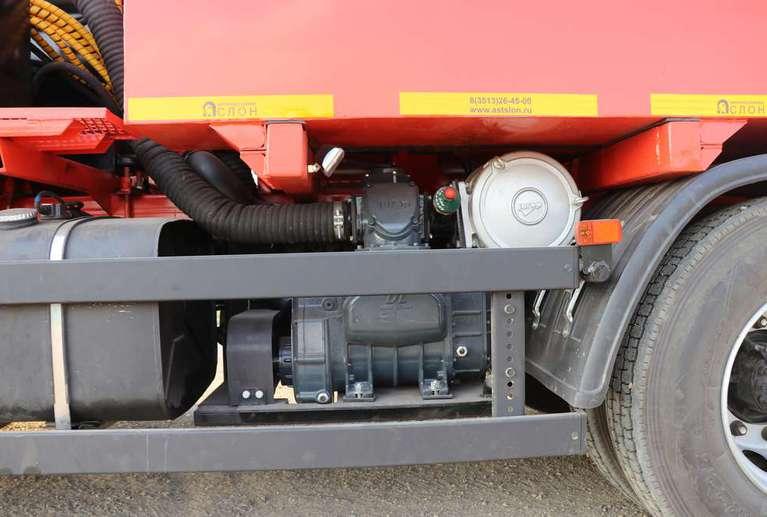 Вакуумная илососная машина МВС-10 на шасси КАМАЗ 65115 (насос DL-250)