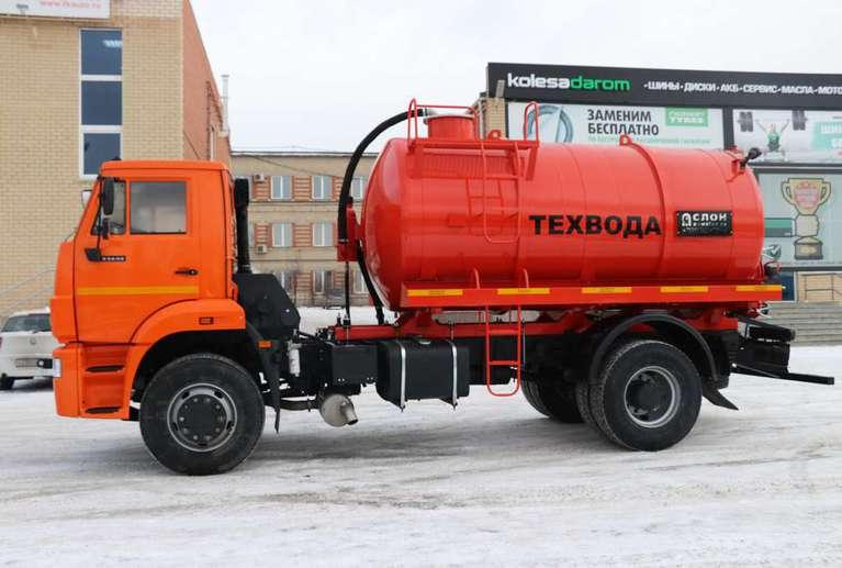 Вакуумная машина МВ-10 на шасси КАМАЗ 53605-48(A5)