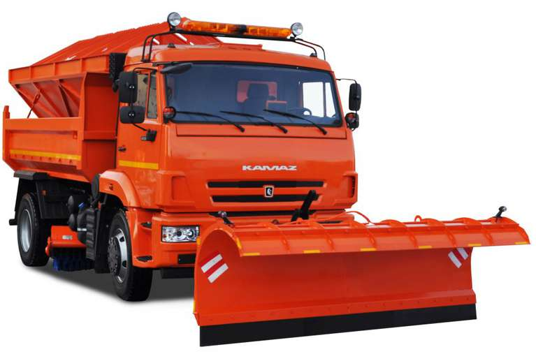 Комбинированная дорожная машина Р-53605 на шасси КАМАЗ 53605