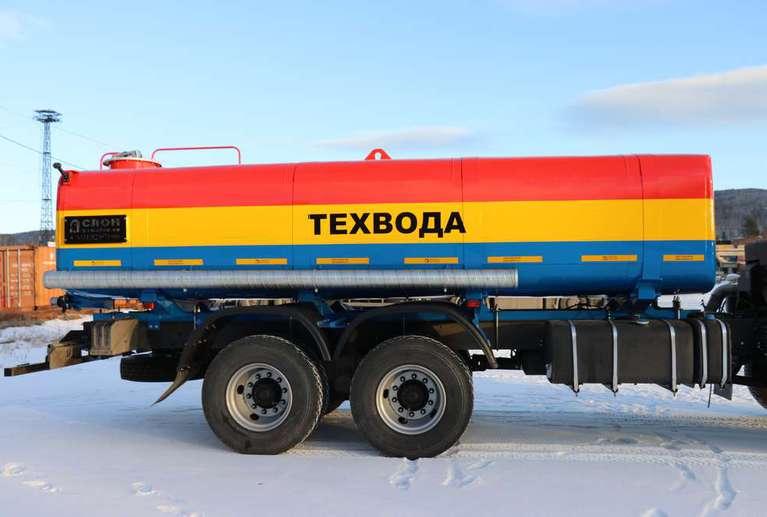 Автоцистерна АЦВ-15 (техвода) на шасси КАМАЗ 65111-50