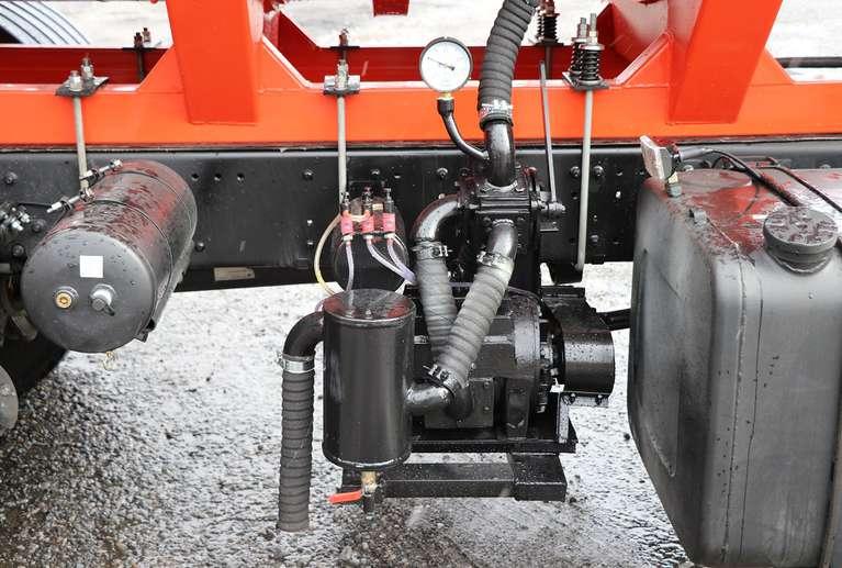 Вакуумная машина МВ-19 на шасси МАЗ-6312С5  (Евро 5)