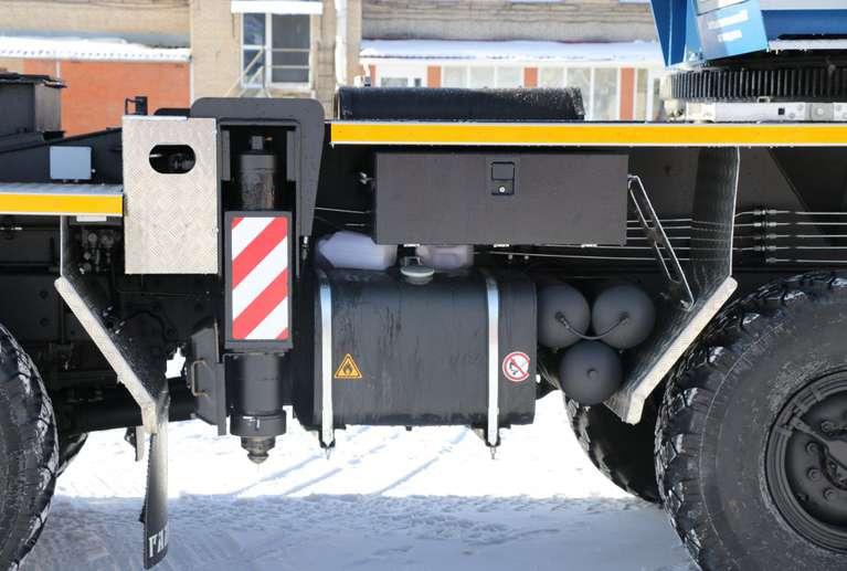 Автокран КС-55729-5B «Галичанин» овоид на шасси КАМАЗ-63501