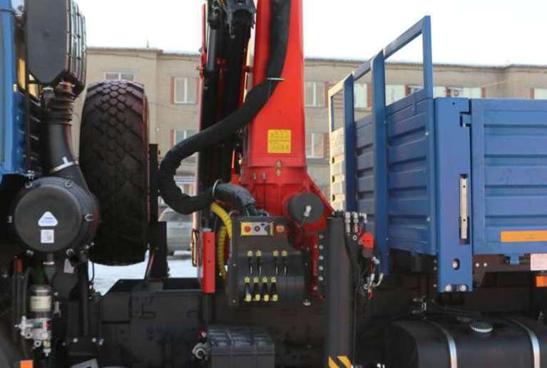 Бортовой автомобиль КАМАЗ 43118-80 (RS) с КМУ Palfinger PK-23500А