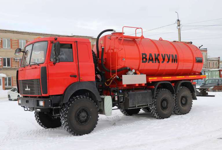 Вакуумная машина МВ-18 на шасси МАЗ 6317F9