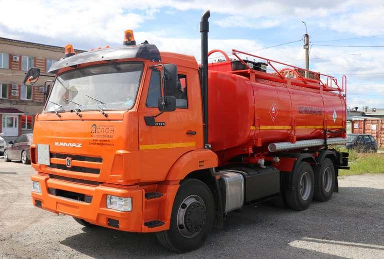 Автотопливозаправщик АТЗ-17 на шасси КАМАЗ 65115-50