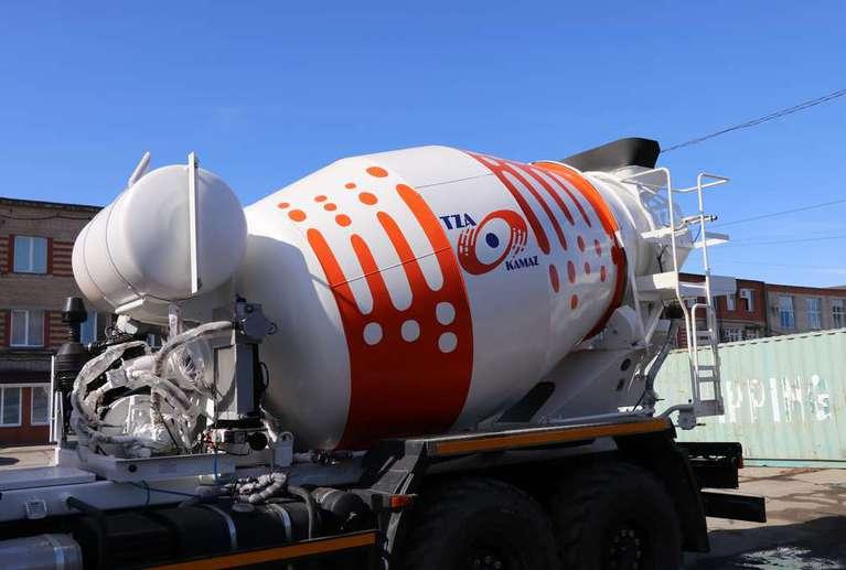 Автобетоносмеситель АБС 58146T на шасси КАМАЗ 43118-50