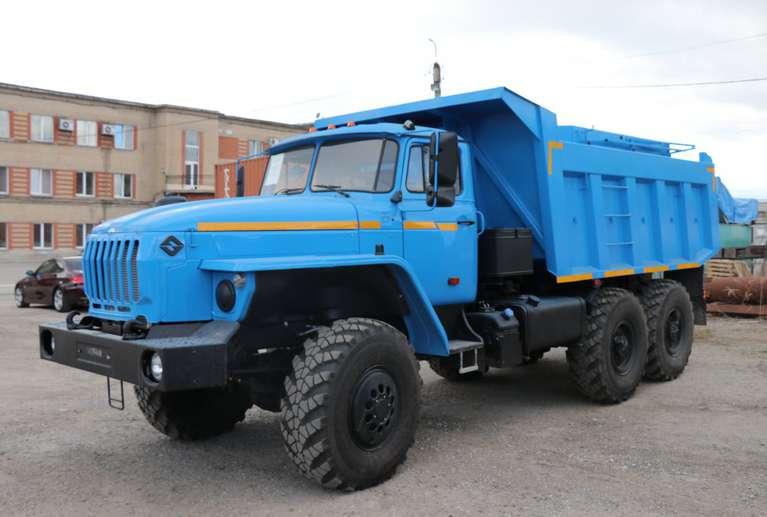 Самосвал-шламовоз УРАЛ 55571-60Е5
