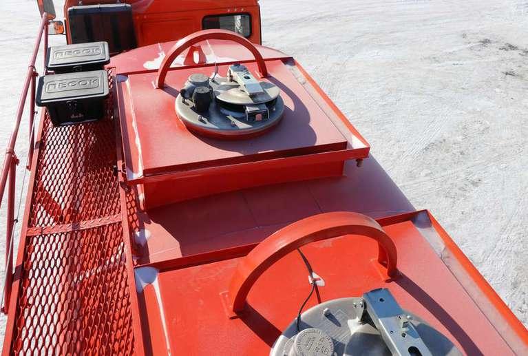 Автотопливозаправщик АТЗ-12 (2 секции) на Камаз 43118-50 (со спальным местом)