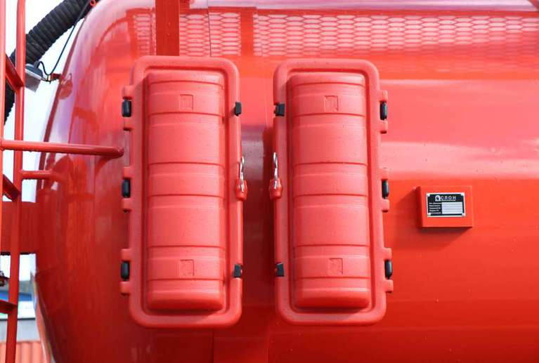 Автоцистерна АКН-10ОД на шасси КАМАЗ 43118-50 (без спального места)