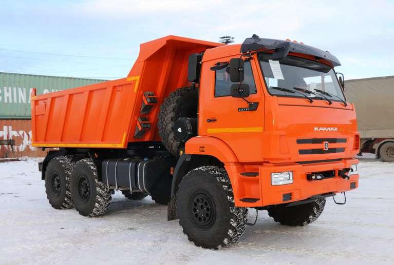 Самосвал Камаз 43118-50 (объем кузова: 10 куб.м.)