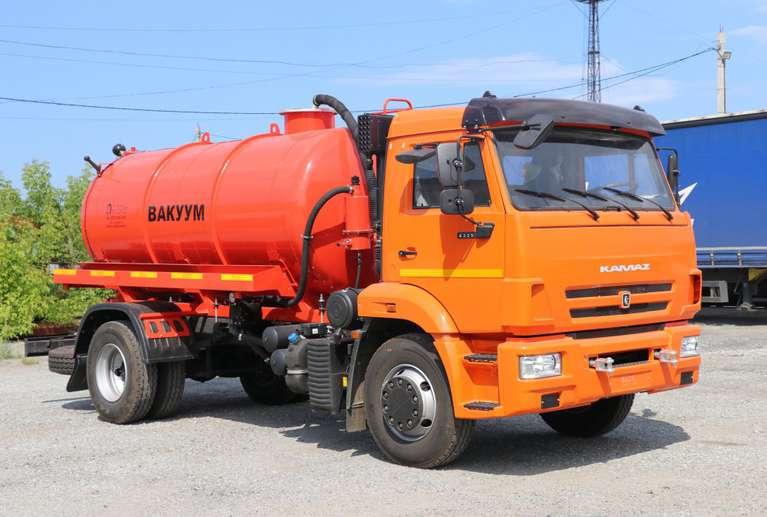 Вакуумная машина МВ-8 на шасси КАМАЗ 43253