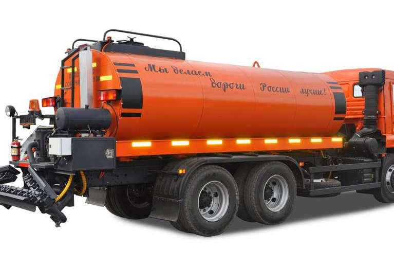Автогудронатор АС-65115 на шасси КАМАЗ 65115