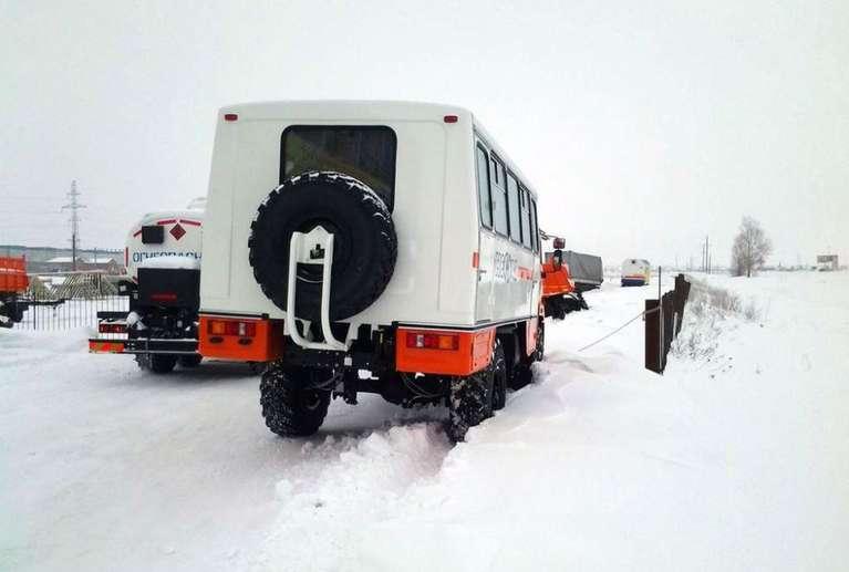 Вахтовый автобус КАМАЗ 43502 (НЕФАЗ)