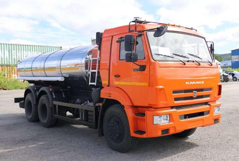 Автоцистерна АЦПТ-9,5 на шасси КАМАЗ 65115-50