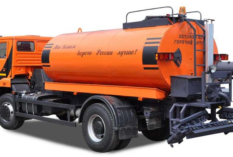 Автогудронатор АС-53605 на шасси КАМАЗ-53605
