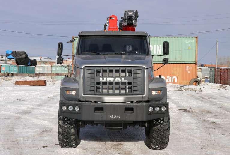 Бортовой Урал NEXT 4320-72Е5Г38 с КМУ Palfinger IT-150
