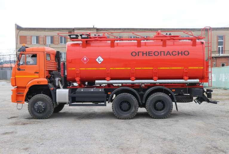 Автотопливозаправщик АТЗ-20 на шасси КАМАЗ 6522-53