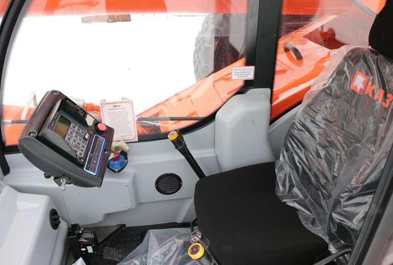 Автокран КС-55713-5К-4 (овоид) на шасси КАМАЗ-43118