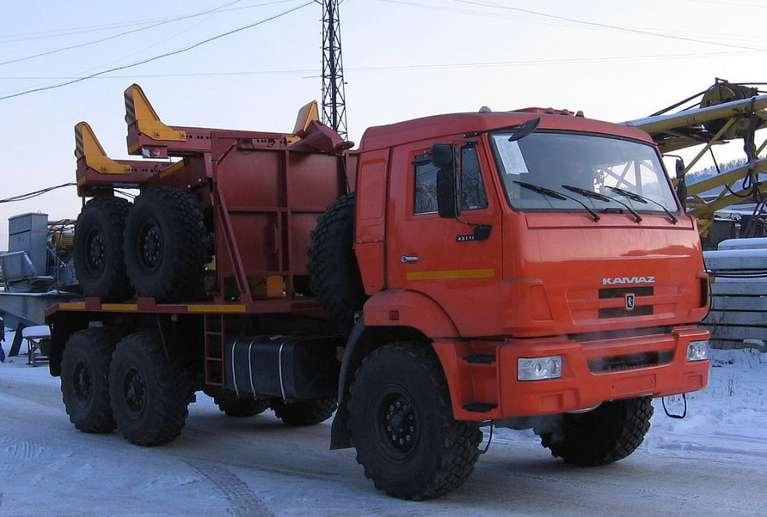 Трубоплетевоз на шасси КАМАЗ 43118-50