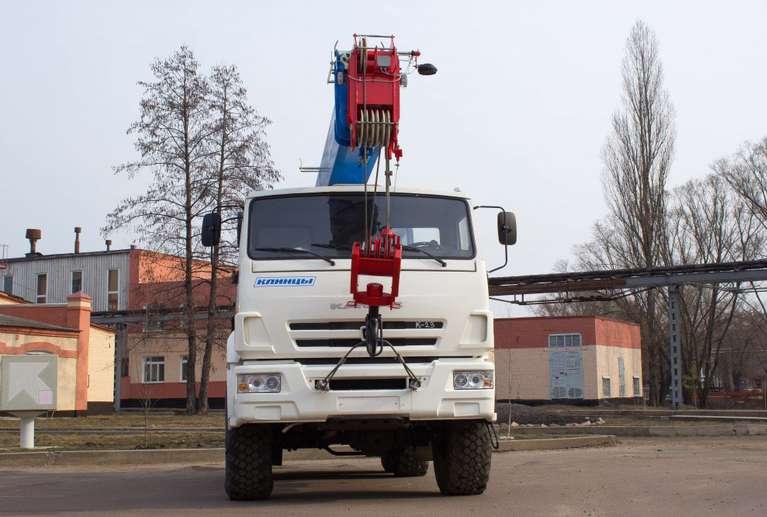 Автокран КС-35719-7-02 на шасси КАМАЗ 43118