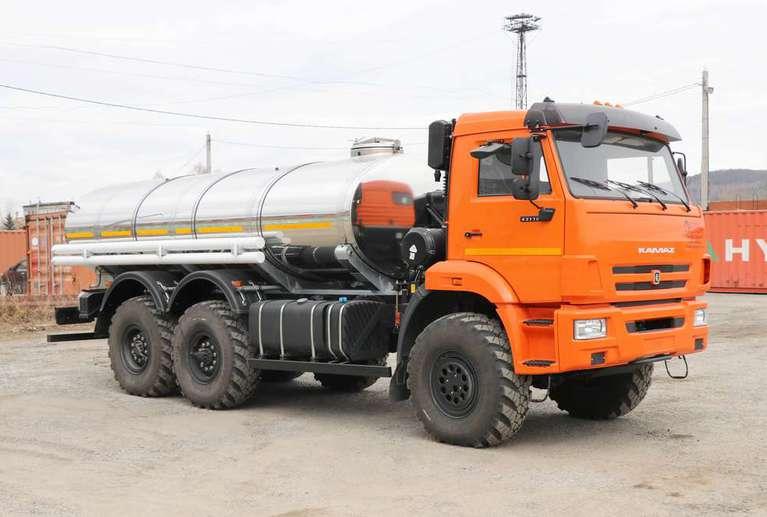 Автоцистерна АЦПТ-9,5 на шасси КАМАЗ 43118-50 (без спального места)