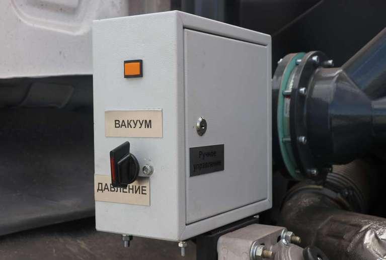 Автоцистерна АКНС-10 на шасси КАМАЗ 43118-50 (без спального места)