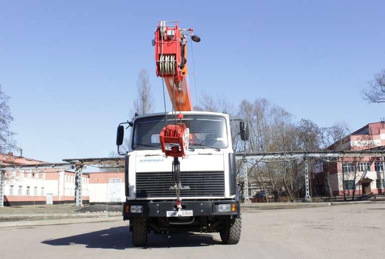 Автокран КС-35719-5-02 на шасси МАЗ-5340В2