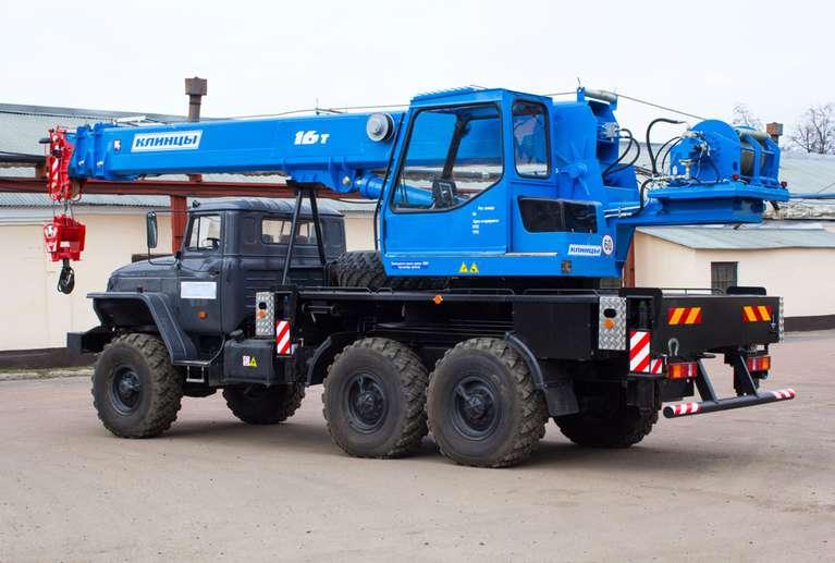 Автокран КС-45719-3К на шасси Урал-5557